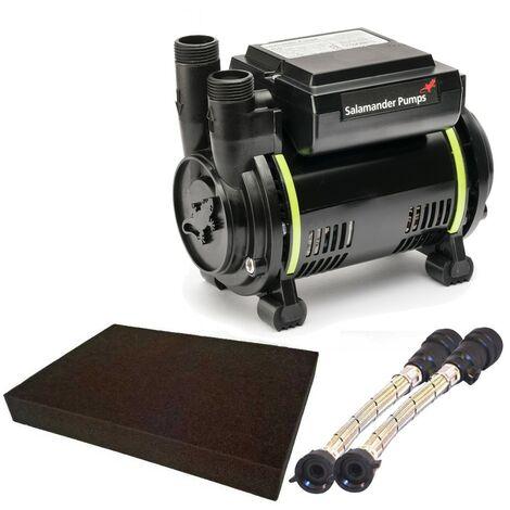 Salamander CT55 1.7 Bar Single shower pump 2 year NEW CT55XTRA & Mat