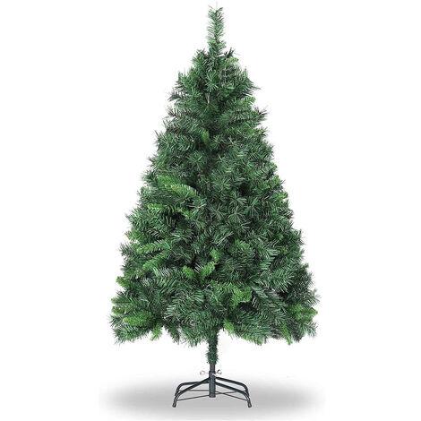 Künstlicher Weihnachtsbaum Christbaum Kunstbaum Tannenbaum Ständer 300cm grün