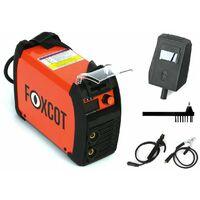 Saldatrice Inverter a elettrodo per uso domestico Foxcot MMA145A