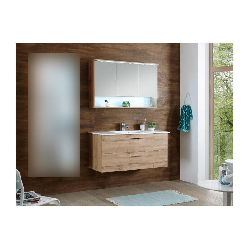 %SALE% Badmöbel Set Bad Oak 'Best' 2 teilig Badezimmermöbel Komplett - HOMEZONE.DE