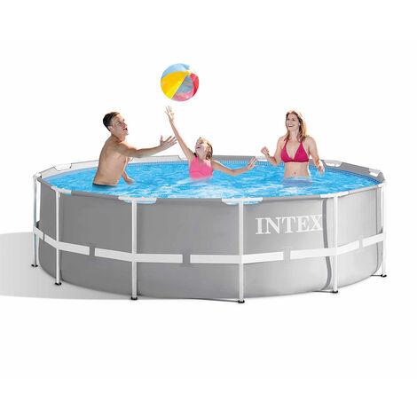 %SALE% SPAR-SET!!! Intex 26712 Prism Frame Pool Ø 366 x 76 cm