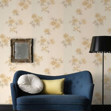 Sale Special Boutique Rome Gold Wallpaper (Was £23)