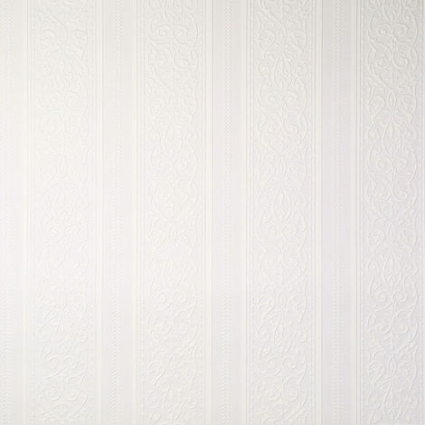 Sale Special Superfresco Stripe White Textured Wallpaper (Was £8)