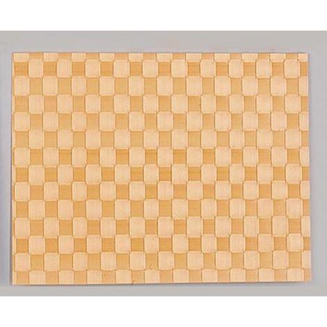 Saleen Gewebe Tischsets Kunststoff orange 40 x 30 cm 101011