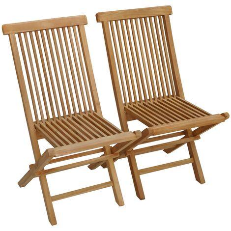 "main image of ""SALENTO - Folding garden Chairs Teak"""