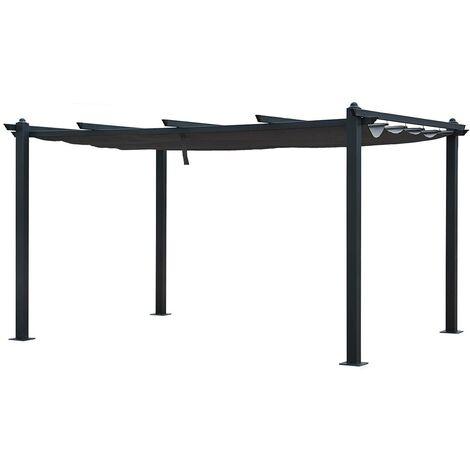 SALENTO - Table de Jardin Ovale Extensible en Teck - Longueur 180 à 240 CM - Rallonge Papillon - 8 personnes - Marron