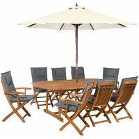 Table de jardin avec trou pour parasol à prix mini