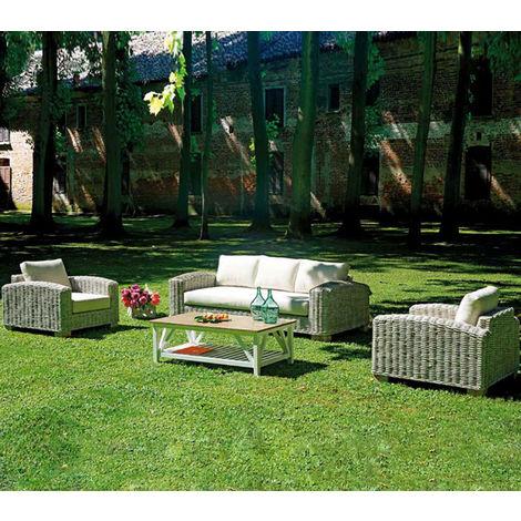 de jardin PEGANE gris en écru coloris fibre Salon naturelle blanchicoussins fvy7Yb6g