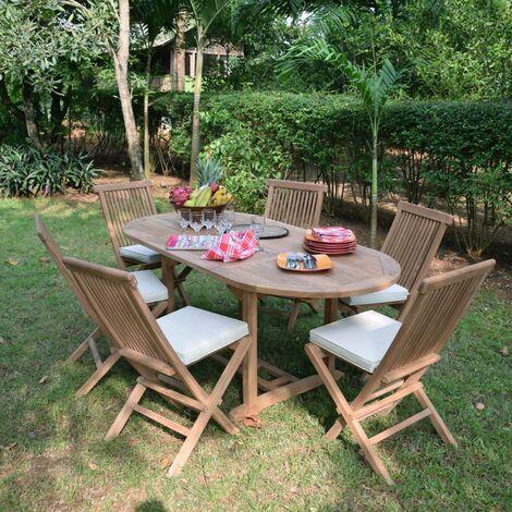 Jardin ManilleTable En Extensible De Teck 1 1 8 À Salon 2 Ecograde CxsrotBhQd