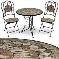 Salon de jardin Mosaïque Barcelona - Ensemble table et chaises Barcelona