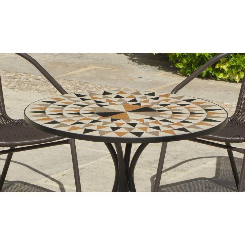 Ronde Table Albir Salon Mosaïque Jardin De Brasil srCtxhQd