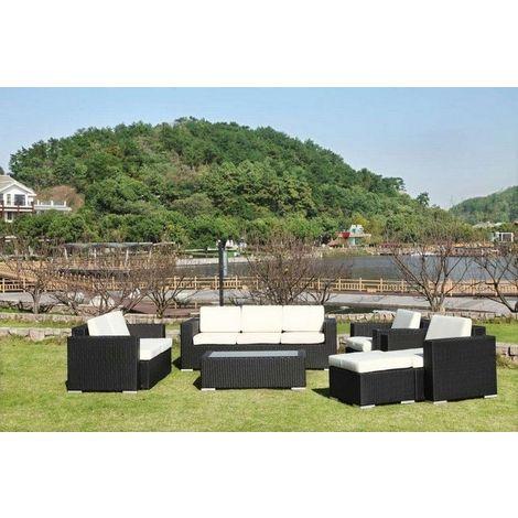Salon de jardin, THAIS NOIR -