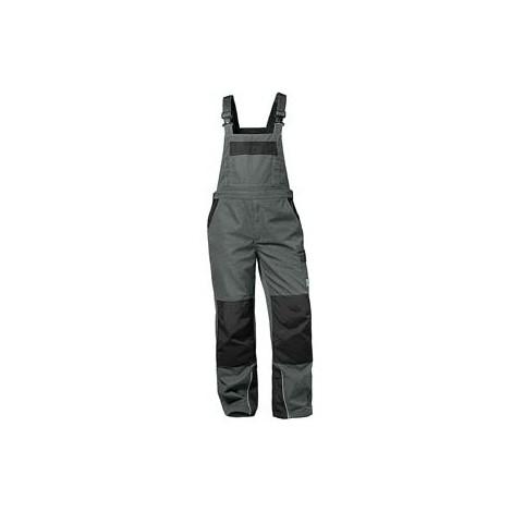 Salopette Bolton, Taille 60, gris/noir