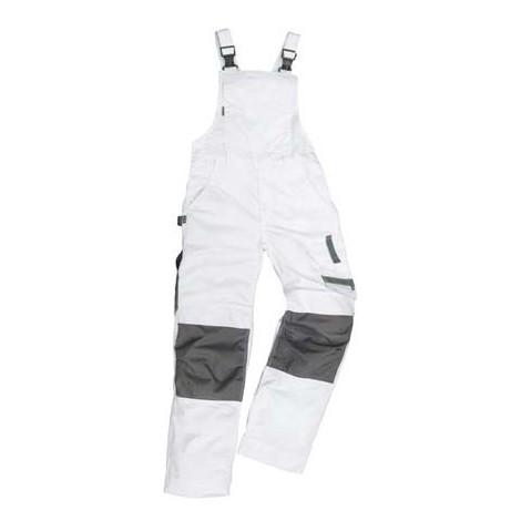 Salopette de travail Champ, Taille 54, blanc/gris
