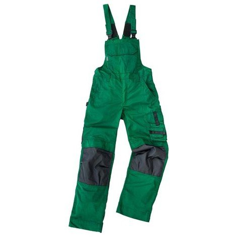 Salopette de travail Champ, Taille 56, vert /gris