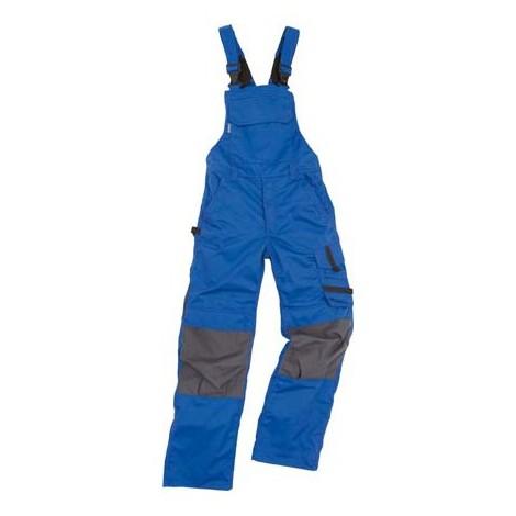 Salopette de travail Champ, Taille 58, bleu/gris