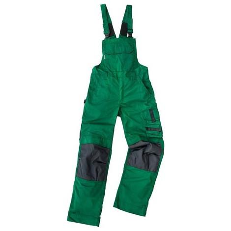 Salopette de travail Champ, Taille 58, vert /gris