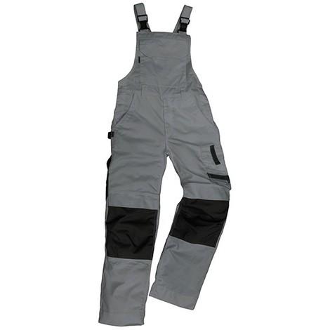 Salopette de travail Champ, Taille 60, gris/noir
