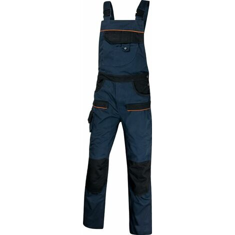 SALOPETTE DE TRAVAIL MACH2 CORPORATE EN POLYESTER / COTON Bleu Marine / Noir DELTA PLUS- MCSALBM0