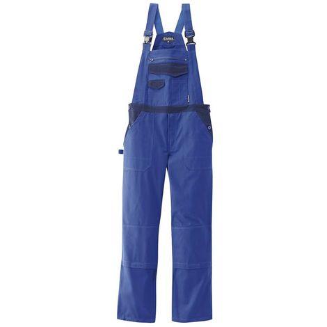 Salopette de travail professionnelle bleue avec genouillères - taille M