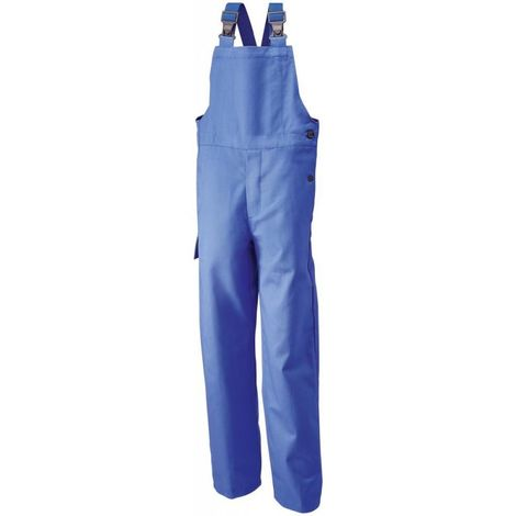 Salopette de travail, Taille 52, 360 g/qm,bleu grain
