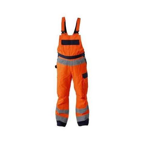 salopette orange, avertissement Pro L41106 Lahti
