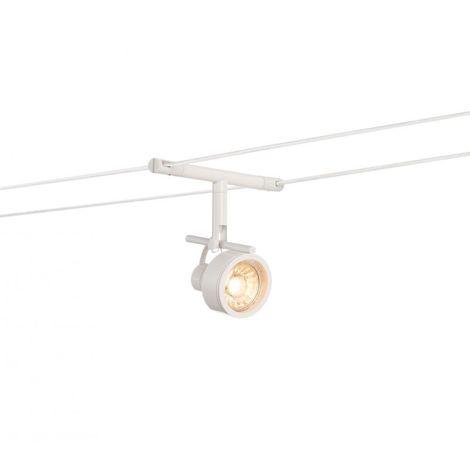 Saluna Spot Pour Câble Tendu Mr16 Blanc Blanc