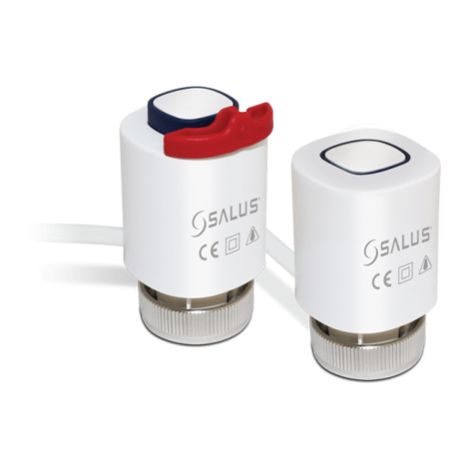 Salus Thermal actuator for energy-saving rules of surface heating - and cooling systems