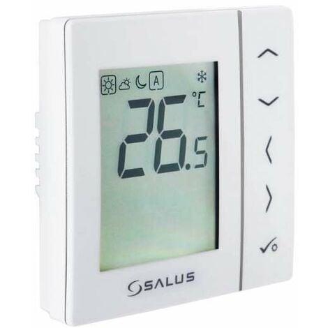 Salus VS35W Digitaler Thermostat 230 Volt Gehäusefarbe weiß 112645