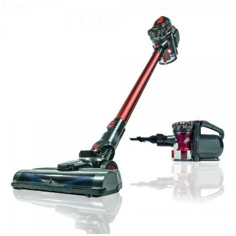 SAMBA Aspirador Vertical Mano Sin Cable Q7-Aspirador Escoba con Cepillo Motorizado Flexible180º,2 NivelesPotencia,Soporte Pared