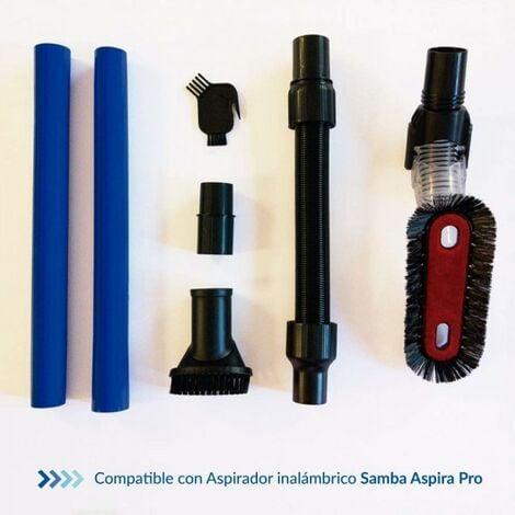 SAMBA Kit Accesorios Aspirador Inalámbrico para Aspiradoras Escoba Aspira Pro