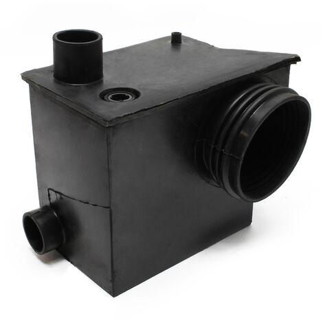 Sammelbehälter WilTec 3/1 Fäkalien Hebeanlage WC Kleinhebeanlage Schmutzwasserpumpe