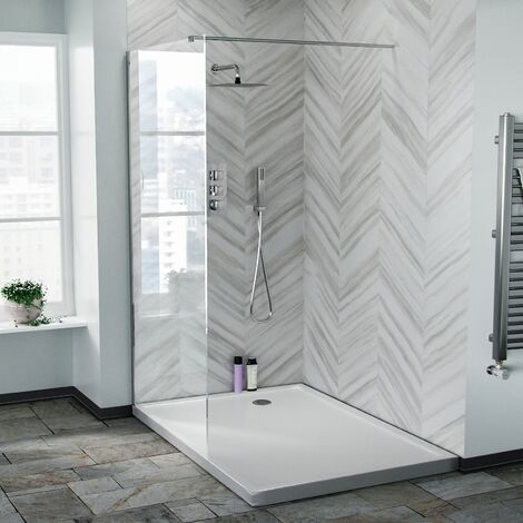 Samoa 1000 mm Wet Room Shower Enclosure