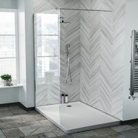 Samoa 1200 mm Wet Room Shower Enclosure