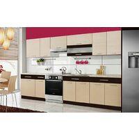 SAMSON | Cuisine Complète L 3,2 m | 9 pcs + Plan de travail INCLUS | Ensemble meubles de cuisine moderne | Armoires cuisine | Legno