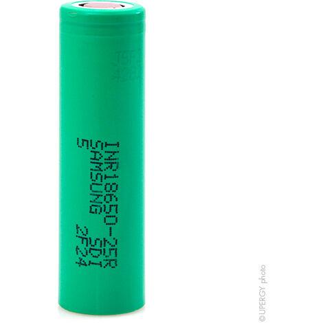 Samsung - Accus Lithium-Ion SAMSUNG INR18650-25R HD 3.7V 2.5Ah FT