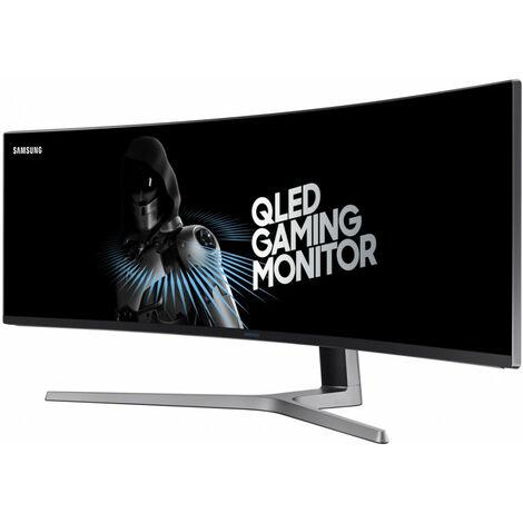 Samsung Curved QLED Gaming moniteur 49 LC49HG90DMU - 124,5 cm (49) - 3840 x 1080 pixels - QLED - LED - 1 ms - Noir (LC49HG90DMUXEN)
