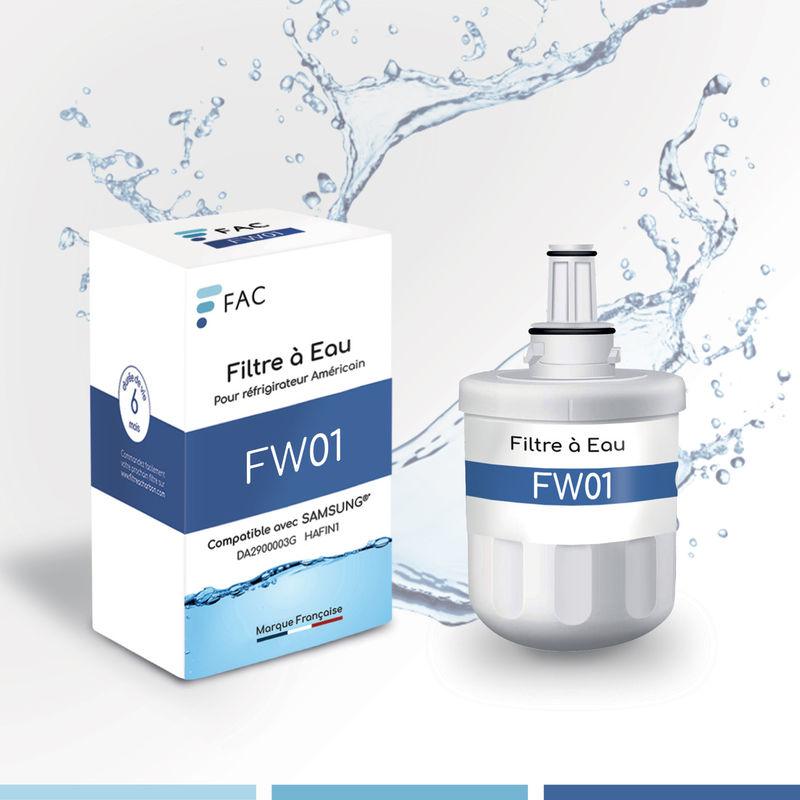Fac - Samsung DA29-00003G – Filtre à eau interne pour Réfrigérateur Américain marque Française