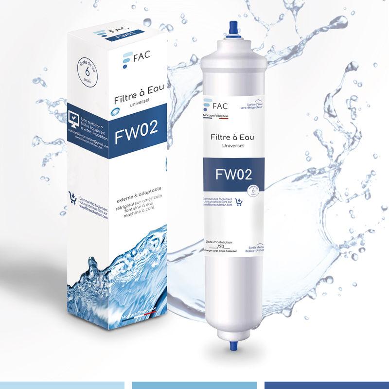 Fac - Samsung DA29–10105J - Wpro USC100/1 - Filtre à eau universel externe pour réfrigérateur Américain