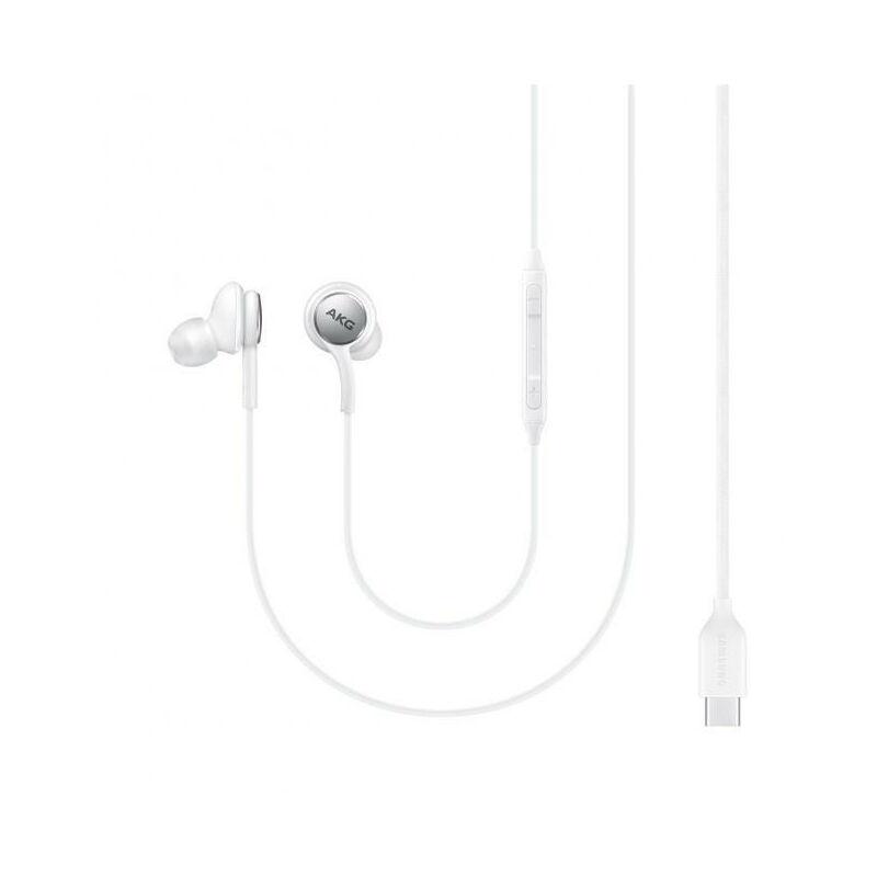 Samsung Kabelgebundenes Headset USB Type-C EO-IC100 Sound by AKG, Weiss EO-IC100BWEGEU
