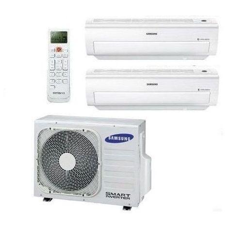 Samsung Klimaanlage Multi Split 2 Räum CLASSIC+ Inverter Klimageräte Multisplit