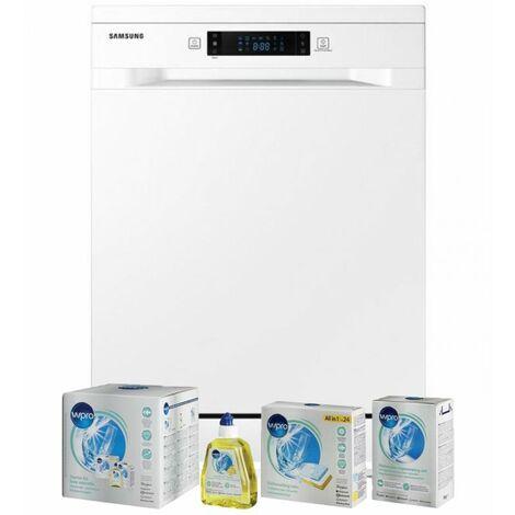 SAMSUNG Lave-vaisselle posable blanc 44dB 14 couverts 60cm Tiroir à couverts - Blanc