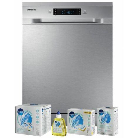 SAMSUNG Lave-vaisselle posable inox 44dB 14 couverts 60cm Tiroir à couverts - Inox