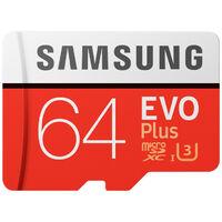 Samsung MB-MC64GA/EU - 64 Go - MicroSDXC - Classe 10 - UHS-I - 80 Mo/s - 20 Mo/s (MB-MC64GA/EU)
