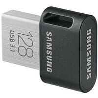 Samsung MUF-128AB - 128 Go - USB Type-A - 3.2 Gen 1 (3.1 Gen 1) - Pivotant - 3,1 g - Noir - Acier inoxydable (MUF-128AB/EU)