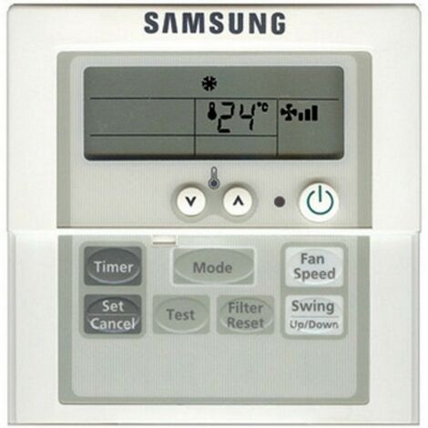 SAMSUNG MWR-AH01 - Télécommande Climatiseur, Wired Remote controller
