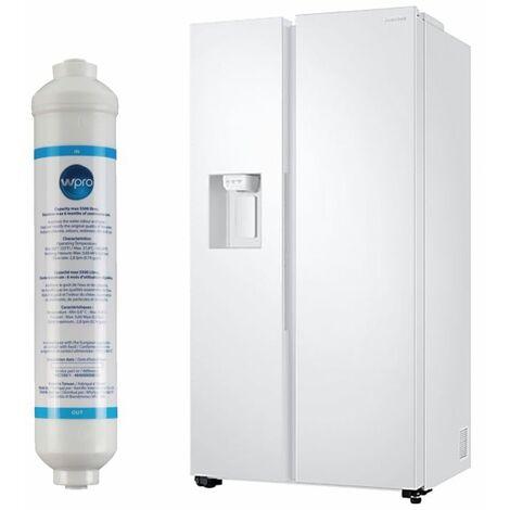 SAMSUNG REFRIGERATEUR Frigo AMERICAIN US 2 portes blanc 617L A+ Froid ventilé No frost Distributeur d'eau
