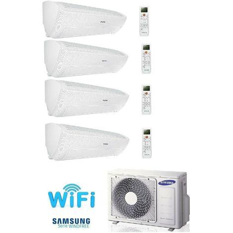 SAMSUNG Wind Free Standard 2x2,0+2,5+3,5kW MultiSplit Klimaanlage Aussen 7,0kW