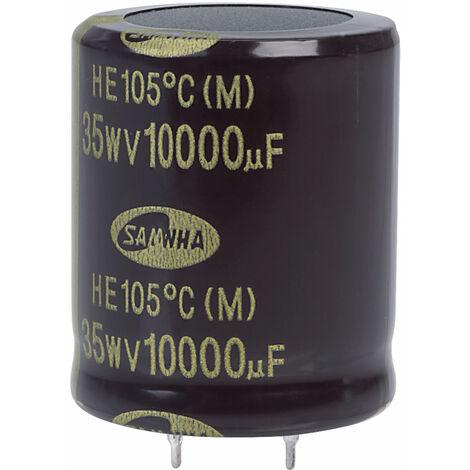 Samwha HE1V109M30035HA 10000uf 35V 105deg He Snap-in Capacitor