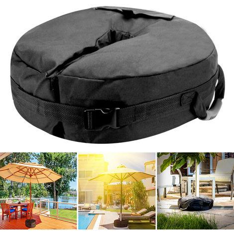 Sand Bag Outdoor Umbrella Parasol Tent Base Weight Stand Patio Garden Sunshade